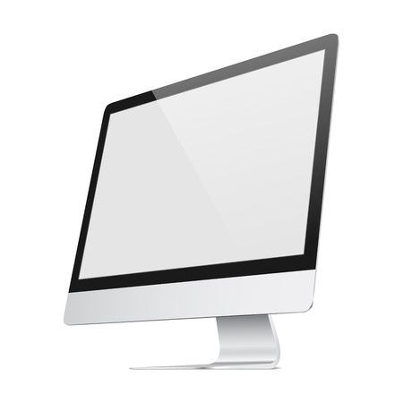 Ultra flat screen Vector