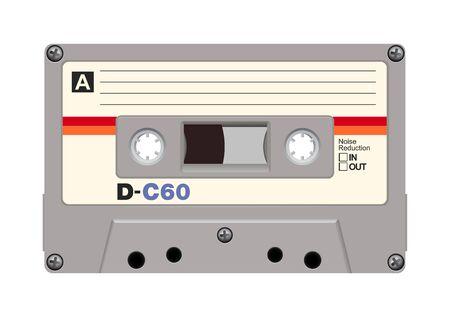 audiotape: Audiotape Illustration