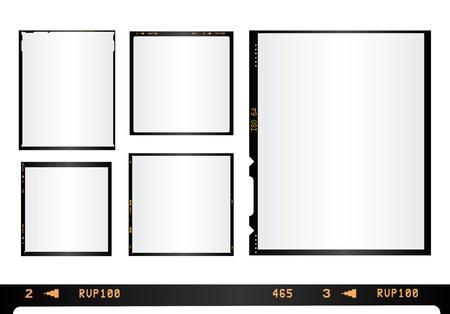 Fotos fronteras Ilustración de vector