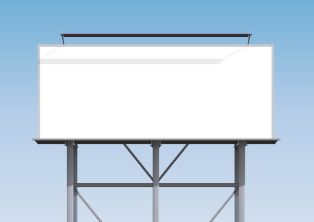 formats: Billboard blank Illustration