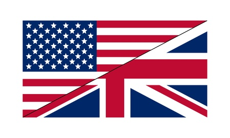 Flag US/UK Stock Vector - 18498092