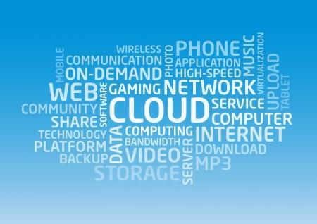 Cloud words Stock Vector - 19248251