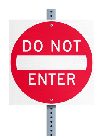 Do not enter Vector