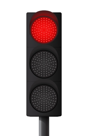 Rote Ampel Illustration