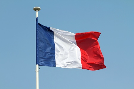French flag Stock Photo - 20941311