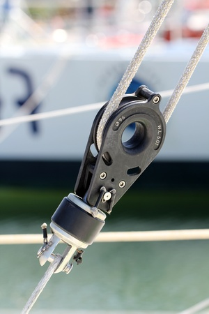 fittings: Sailing pulley