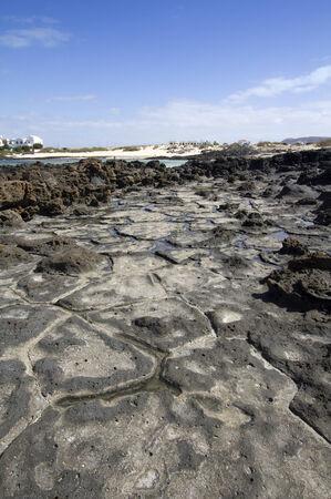 Rock formations  El cotillo - Fuerteventura - Spain Stock Photo - 24160924