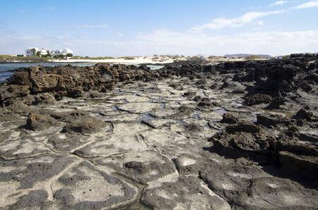 Rock formations  El cotillo - Fuerteventura - Spain Stock Photo - 24160926