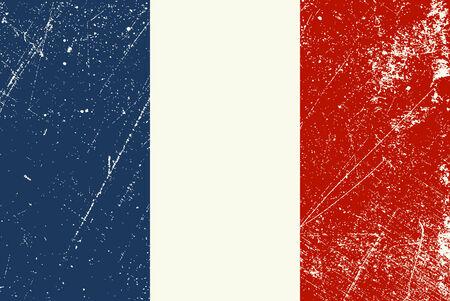 Bandiera d'epoca francese