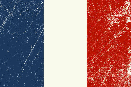 French Flag vintage