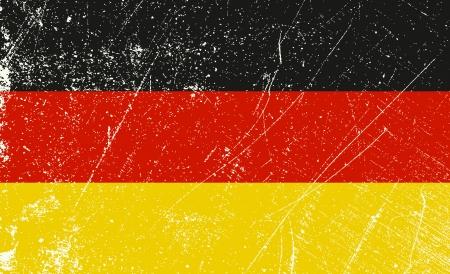 toulouse: German Flag vintage