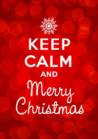 xmax: Keep calm and Merry Christmas