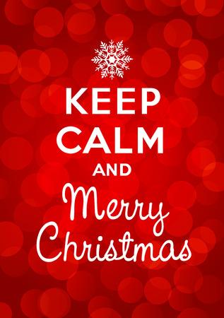 keep calm and carry on: Keep calm and Merry Christmas