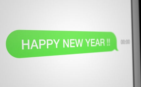 SMS Happy New Year photo