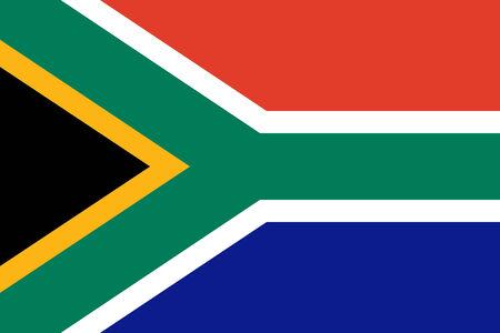 nelson mandela: South African flag