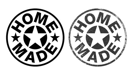Home made rubber stamp ink