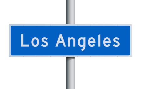 los angeles: Los Angeles Stra�enschild