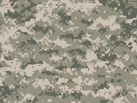 digitization: Camouflage pixels Illustration
