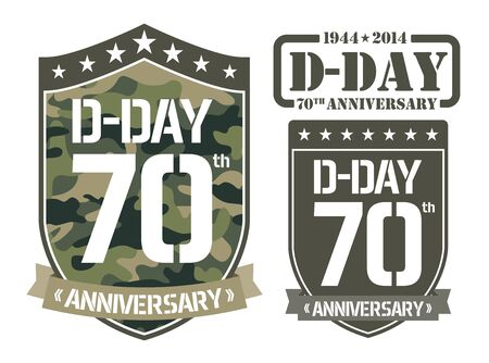 military invasion: Escutcheon D-DAY Anniversary