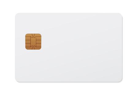 smart card: Smart card Illustration