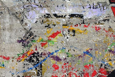 scraping: Used painting on wall