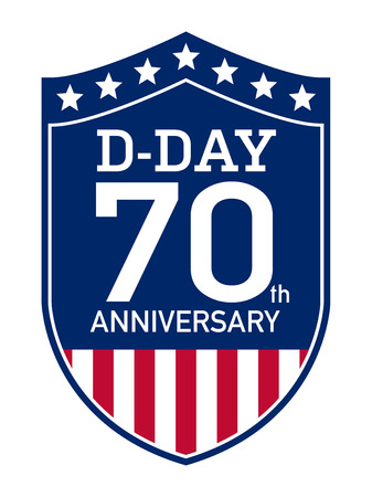 allied: D-Day Anniversary badge