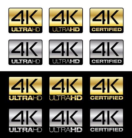 gold standard: 4K UltraHD