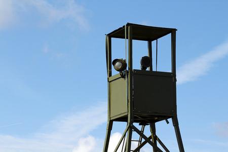 watchtower: War watchtower Stock Photo