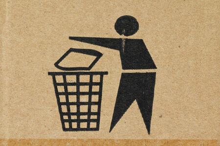 Symbol - Trash photo