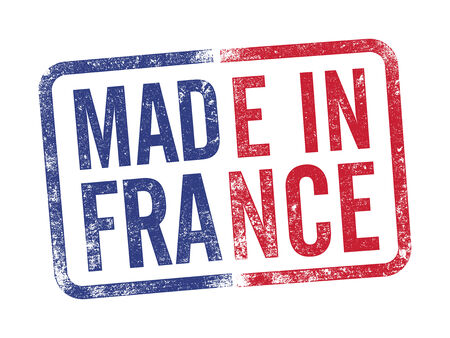 Made in France inkpad Vector