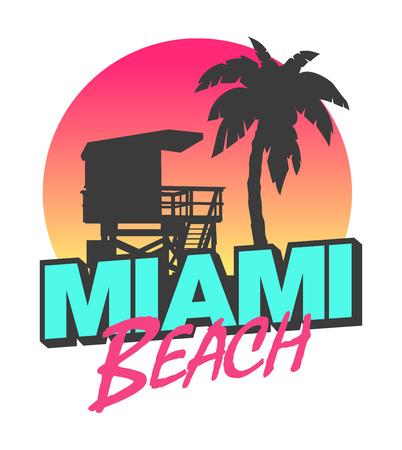 lifeguard: Miami Beach