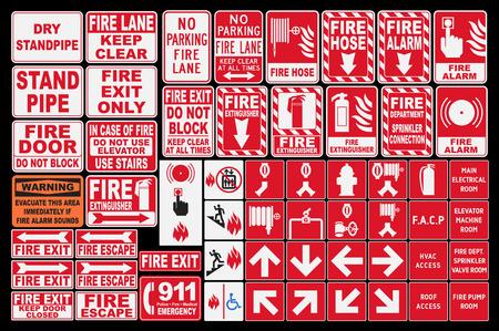 salida de emergencia: Fuego Emergencia Sings