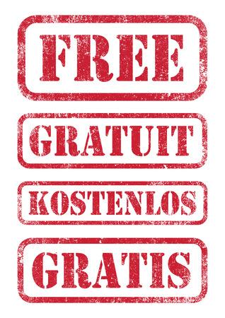 Free stamps Illustration