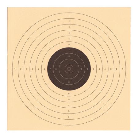 dexterity: Cardboard shooting target
