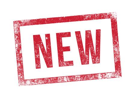 新しいスタンプ  イラスト・ベクター素材