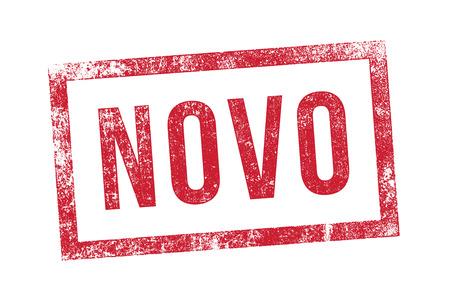novelty: Stamp novo