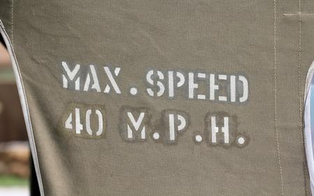 max: Max Speed 40 MPH