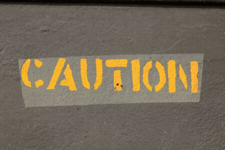 advertencia: Pintura Precaución