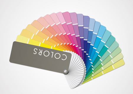 Multicolors tone  イラスト・ベクター素材