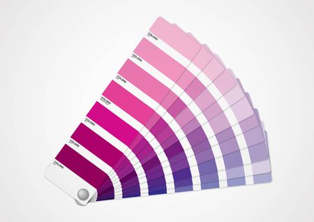 color swatch: Purple tone