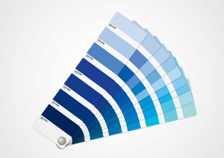 pantone: Blue tone Illustration