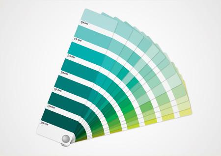 groene tint Stock Illustratie