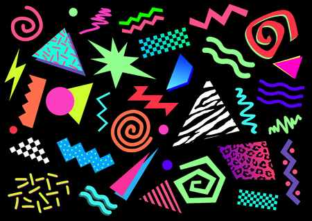80s Abstract Shapes