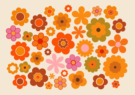 backgrounds: Vintage Flowers