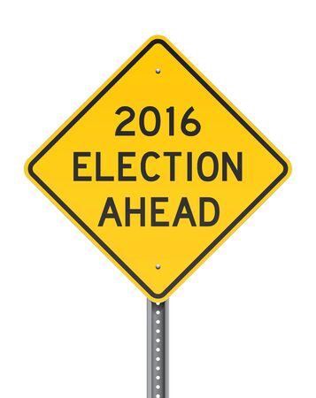 Election 2016 Roadsign