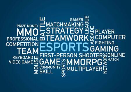 a word: eSports words