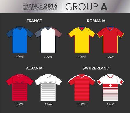 european: European Cup 2016 - Group A