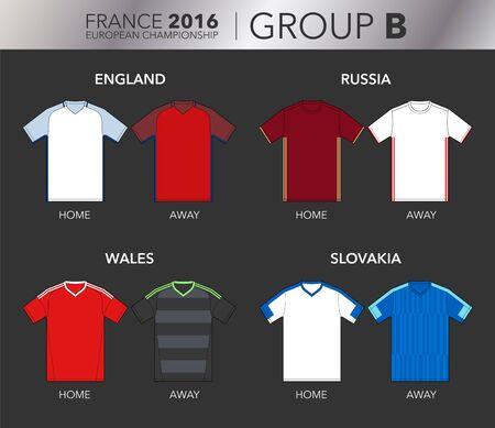 group b: European Cup 2016 - Group B