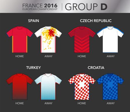strips away: European Cup 2016 - Group D