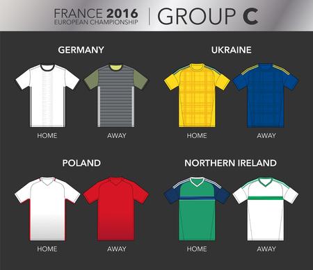 strips away: European Cup 2016 - Group C